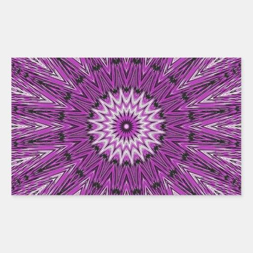 Purple Star Gazer Kaleidoscope Sticker