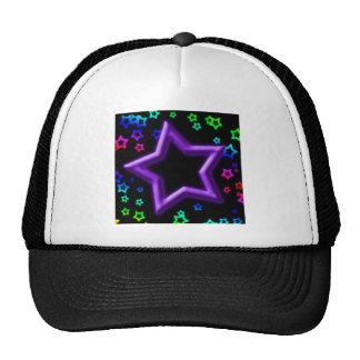 Purple Star Hi-Light Mesh Hat