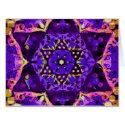 Purple Star Mandala Card (<em>$7.35</em>)