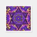 Purple Star Mandala Paper Napkin (<em>$44.30</em>)