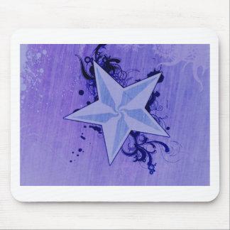 Purple Star :) Mouse Pad