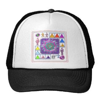 PURPLE STAR n Cartoon Images: Elegant GIFTS f kids Hats