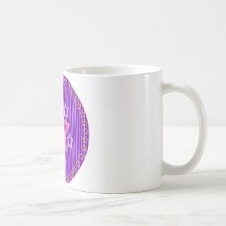 Purple Star Shield Coffee Mug