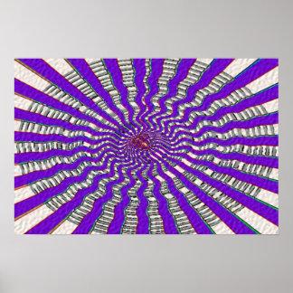 Purple Star -  Solar Plexes Poster
