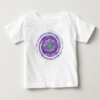 Purple STAR Sparkle Baby T-Shirt