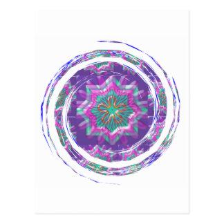 Purple STAR Sparkle Postcard