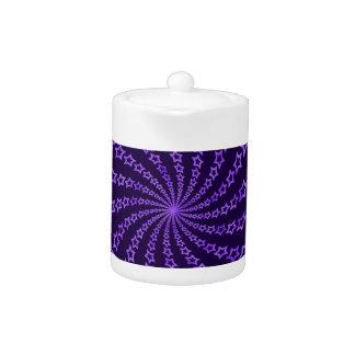 Purple Star Spiral
