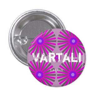 Purple Star Vartali Round Button