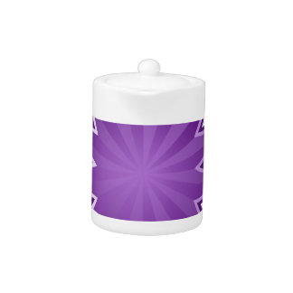 Purple Starburst Icon