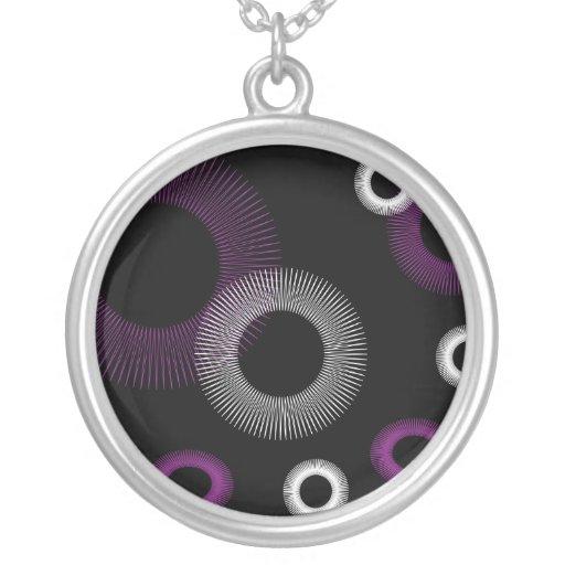 Purple Starburst Necklace