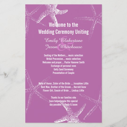 modern gray monogram wedding programs zazzle com