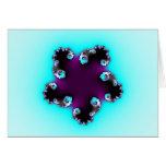 Purple Starfish Card