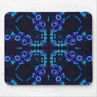 Purple Stargazing Geometric Mouse Pad