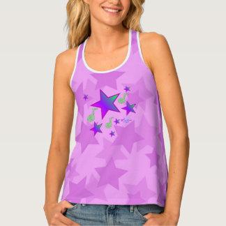Purple Starlight Lullaby Tank Top