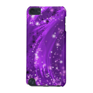 Purple Stars Fractal Art IPod Touch Case Cover