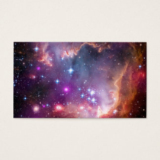 Purple Stars Galaxy Space Astronomy Business Card