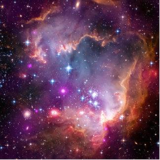 Purple Stars Galaxy Space Astronomy Cutout