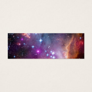 Purple Stars Galaxy Space Astronomy Mini Business Card