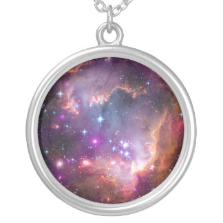 Purple Stars Galaxy Space Astronomy Necklaces