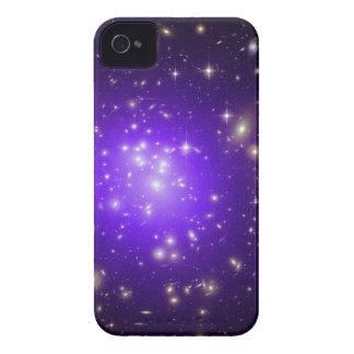 Purple stars haze in space NASA iPhone 4 Cover