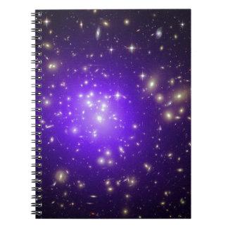 Purple stars haze in space NASA Notebook