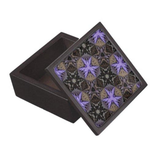 Purple Stars Premium Trinket Box