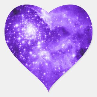 Purple Stars Stickers