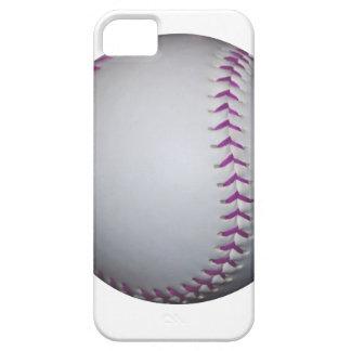 Purple Stitches Baseball / Softball iPhone 5 Cover