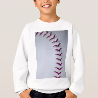 Purple Stitches Baseball/Softball Sweatshirt