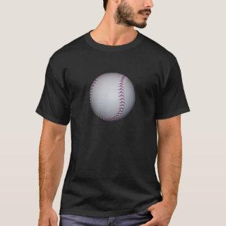 Purple Stitches Baseball / Softball T-Shirt