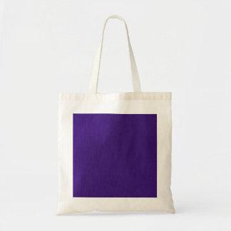 Purple Stockinette Tote Bag