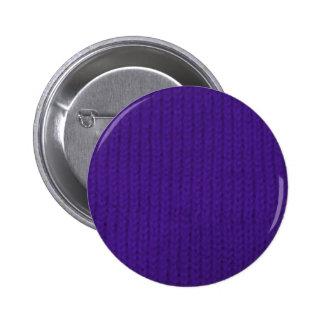 Purple Stockinette Button