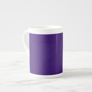 Purple Stockinette Tea Cup