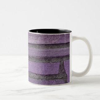 purple stones coffee mugs