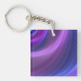 Purple storm keychain