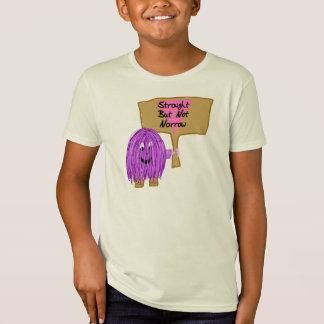 Purple Straight but Not Narrow T-Shirt