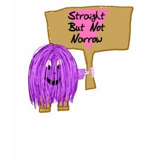 Purple Straight but Not Narrow shirt