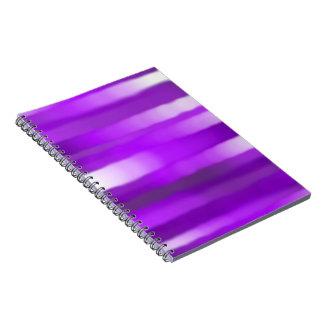 Purple Streak Notebook