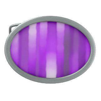 Purple Streak Oval Buckle Oval Belt Buckle
