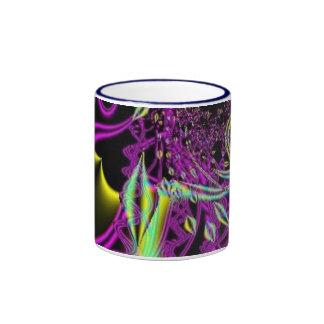 purple streamers ringer mug