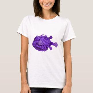 Purple Striped Cowfish T-Shirt