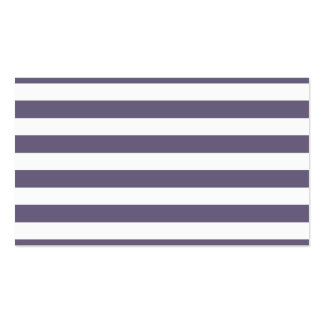 Purple Stripes Double-Sided Standard Business Cards (Pack Of 100)