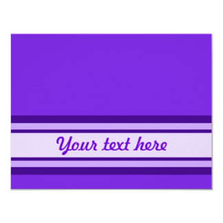 Purple Stripes Cards, Notecards, Stickers Card
