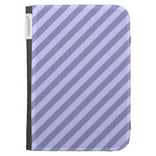 Purple stripes. kindle case
