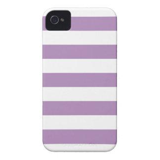 Purple Stripes Pattern iPhone 4/4s Case