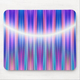 Purple stripes pattern mouse pad