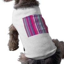 Purple Stripes Pattern T-Shirt