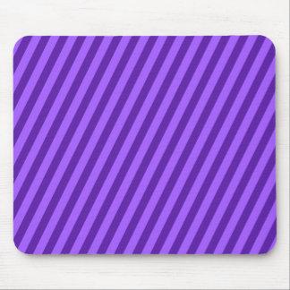 Purple Stripes Striped Pattern Mouse Pad