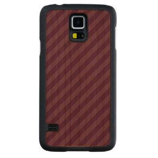 Purple stripes carved® cherry galaxy s5 slim case