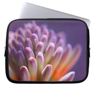 Purple Succulent Laptop Sleeve